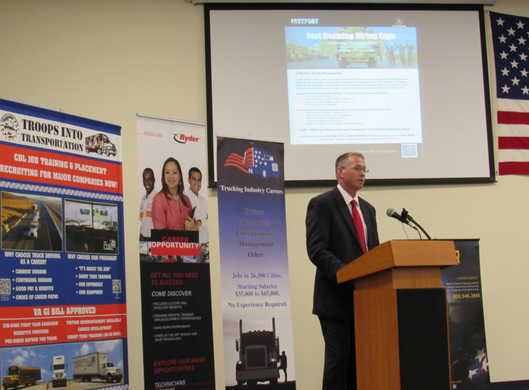NEWEST LEADER - Brad Bentley, FASTPORT President