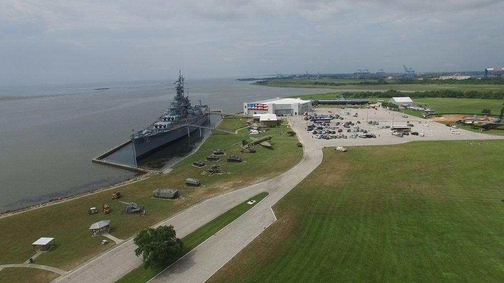 Hire veterans in view of the historiC uss alabama -