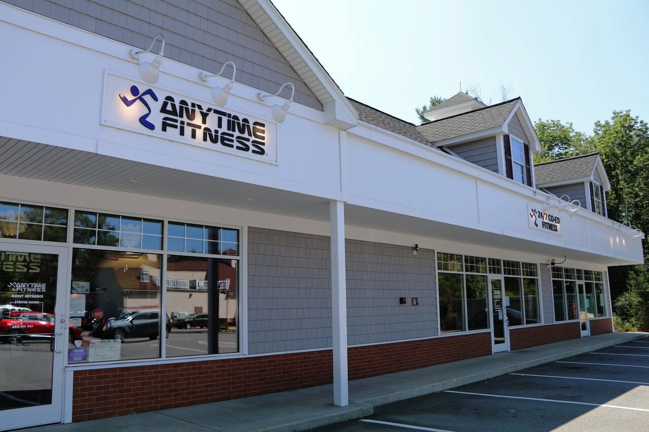 Milestone is next toAnytime FItnessIn Windham  -