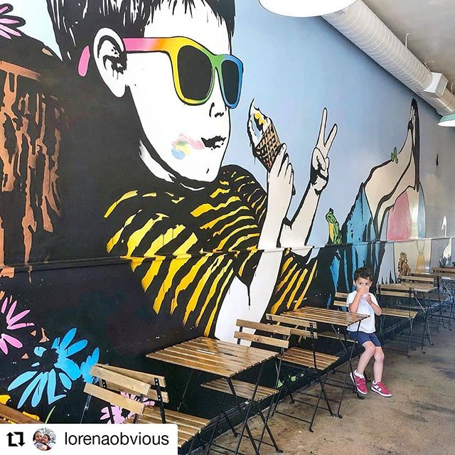 🧑🍦 #Repost @lorenaobvious with @kimcy929_repost • • • • • • Going into the weekend like 😎 . . . #smallbatchicecream #smallbatch #marvista #veniceblvd #venicebeach #sunmerishere #bumblebeelovesyou