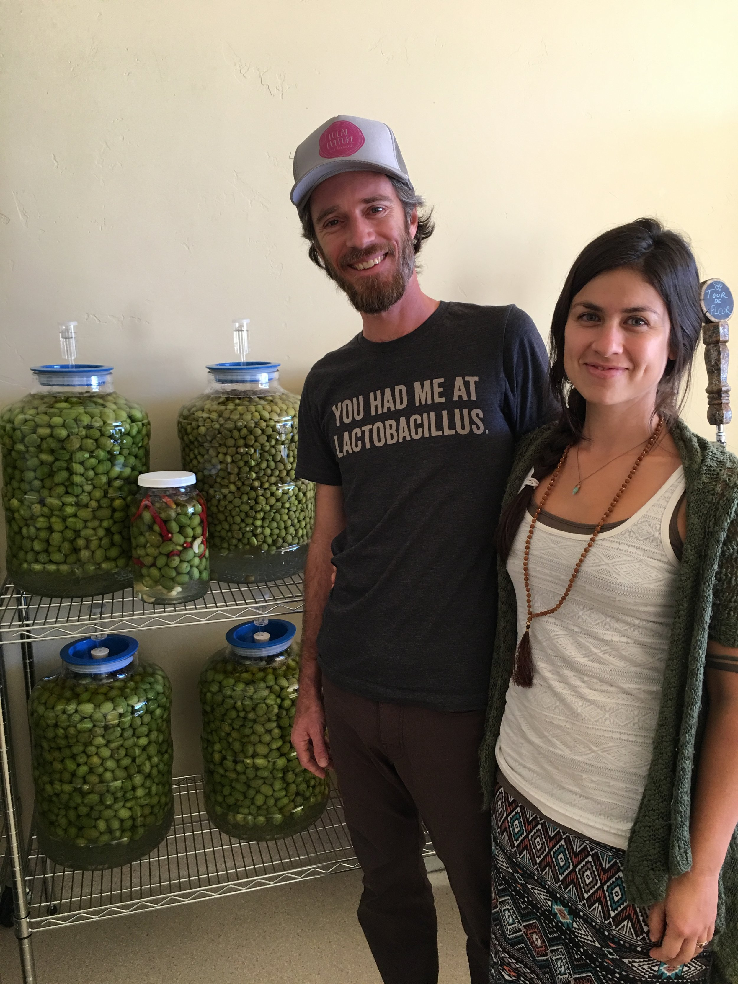 The brine is fine: Local Culture Live Foods Market opens in downtown Grass Valley - Cristina Africano and Chris Frost-McKee think people would be happier if they ate a little bit of sauerkraut each day.For the last 15 years or so, Frost-McKee has been a firm believer in the benefits of kraut, a fascination that carried over to his family, who decided to start marketing their fermented foods in hopes of educating the public on the advantageous qualities they possess.