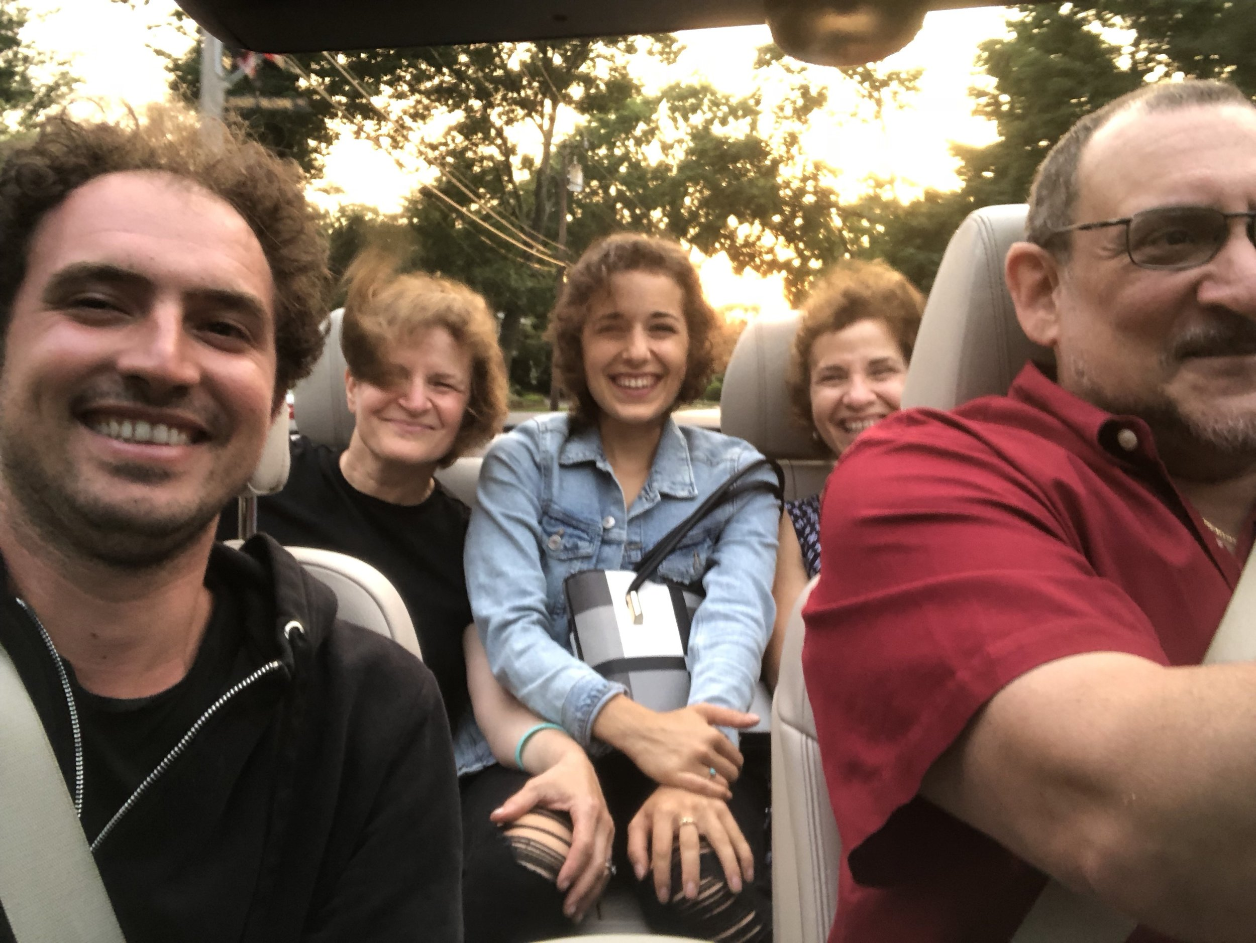 3 July 2018 - On our way out to dinner - Long Island