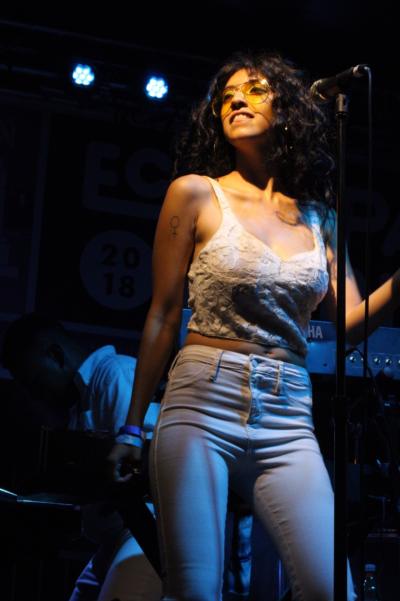 Bardo Martinez @ Echo Park Rising 2018. Photo by Nancy Soriano.