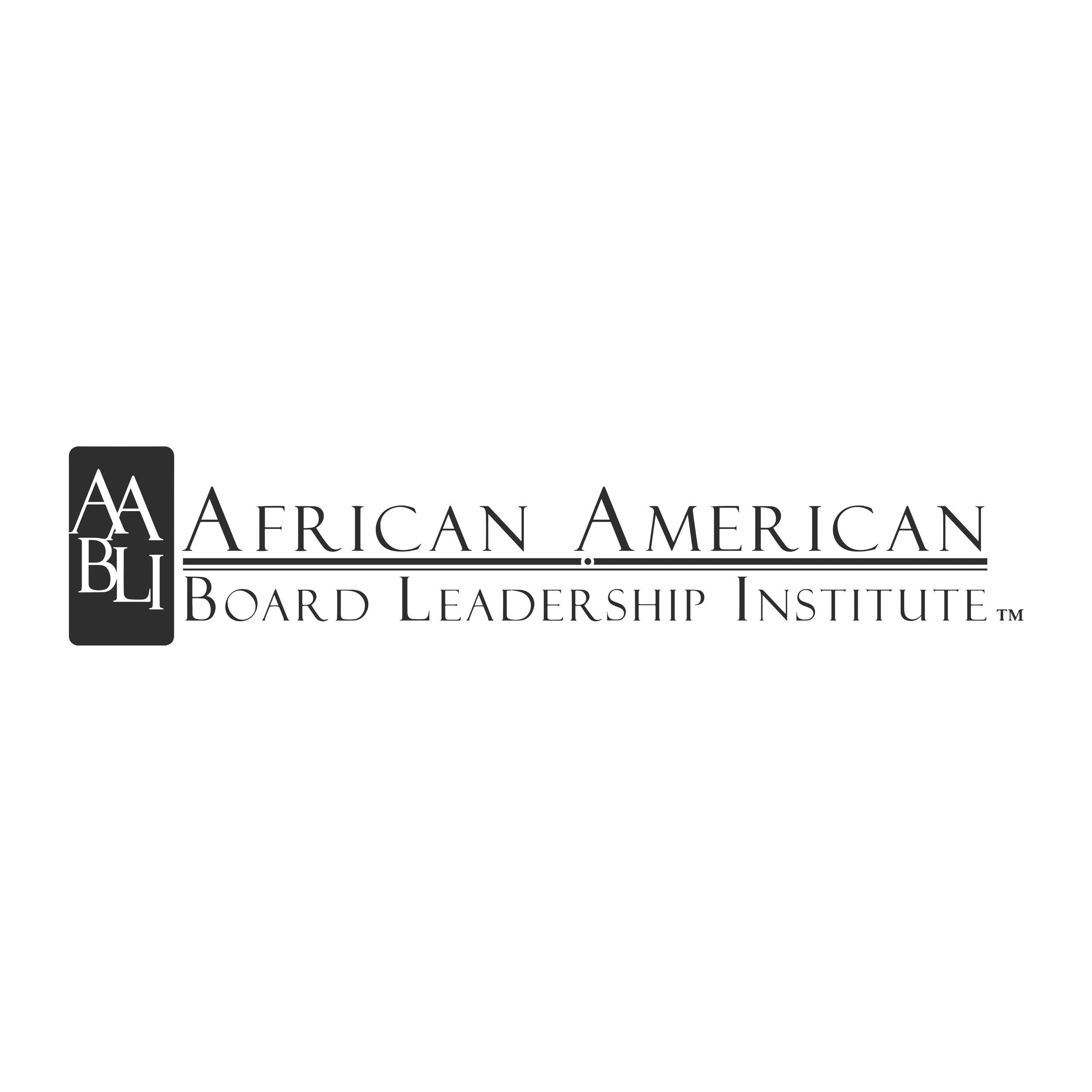 African-American Board Leadership Institute