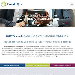 A COMPREHENSIVE GUIDE ON HOW TO RUN A BOARD MEETING