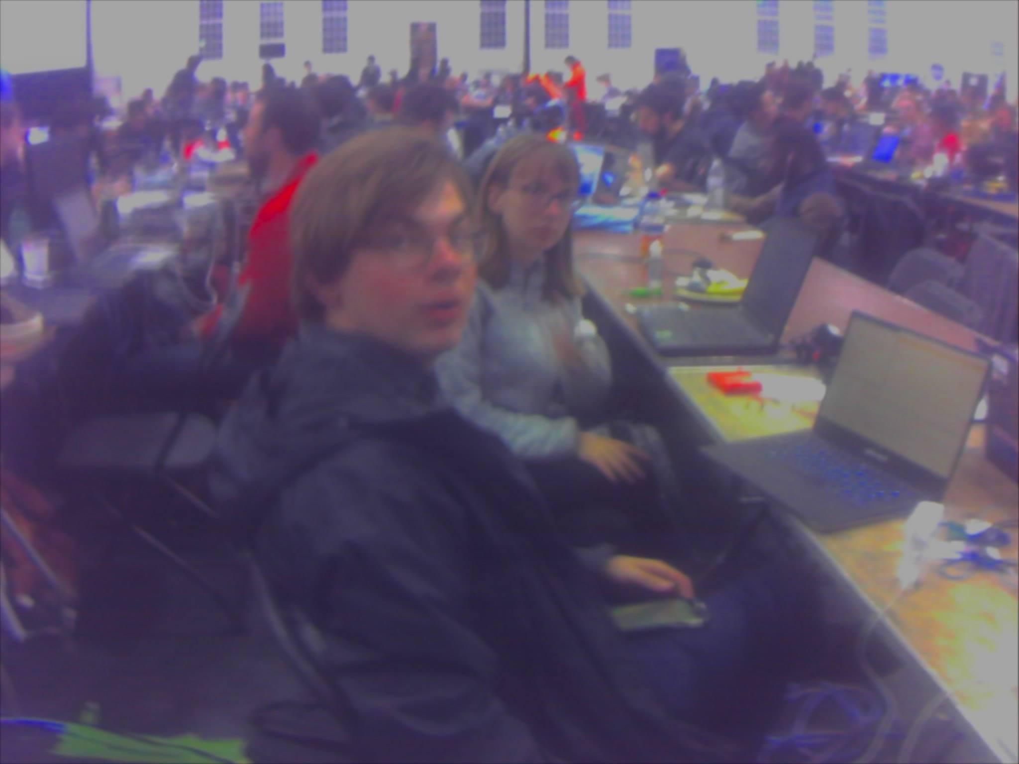 Photo 1 - fellow hackers