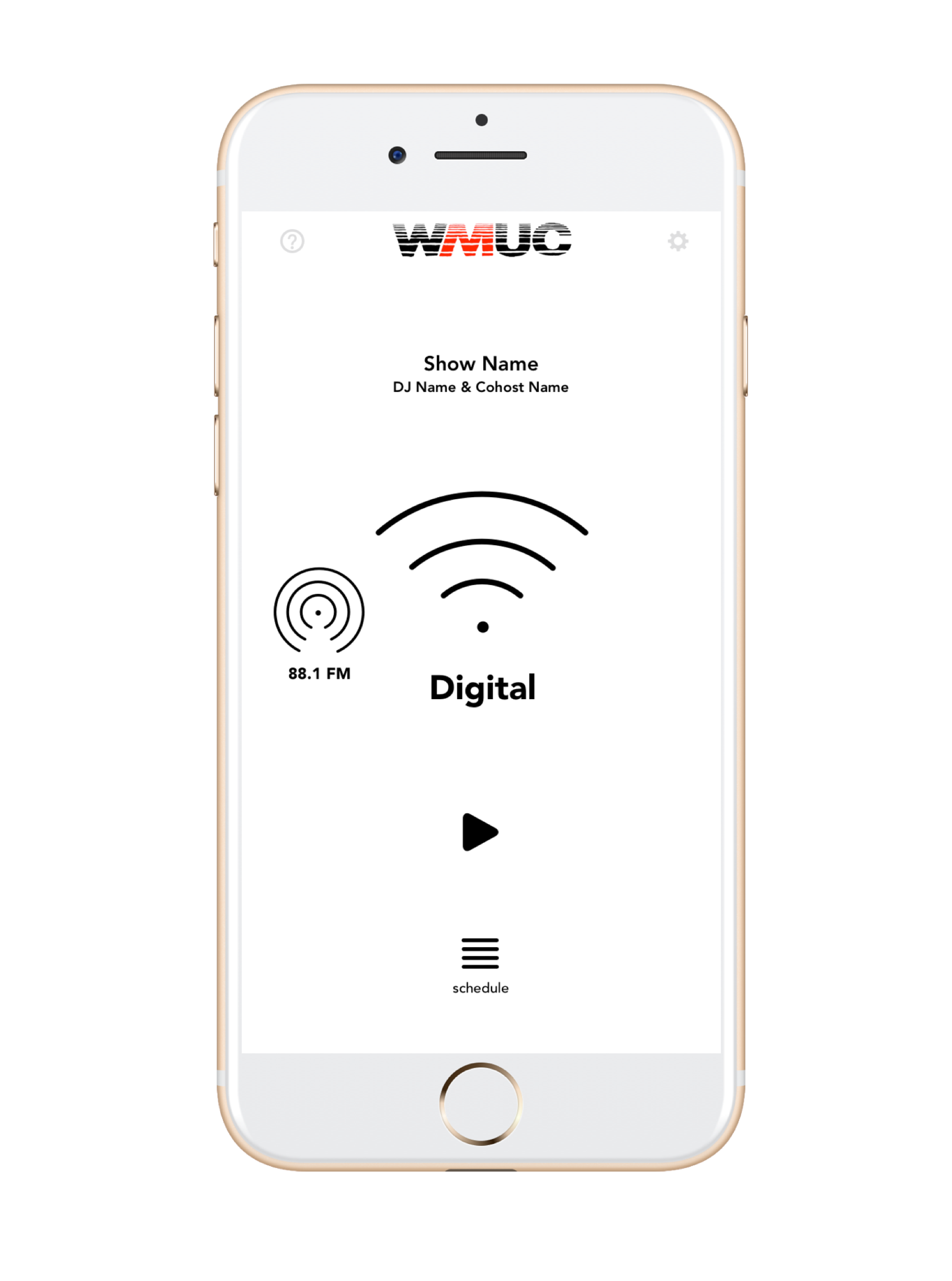 WMUC Radio Mobile App  - OngoingThe University of Maryland radio station, WMUC, needed a better way to reach the campus community.I created an efficient and engaging streaming application, and built a team to ensure continuous development of the app across platforms.