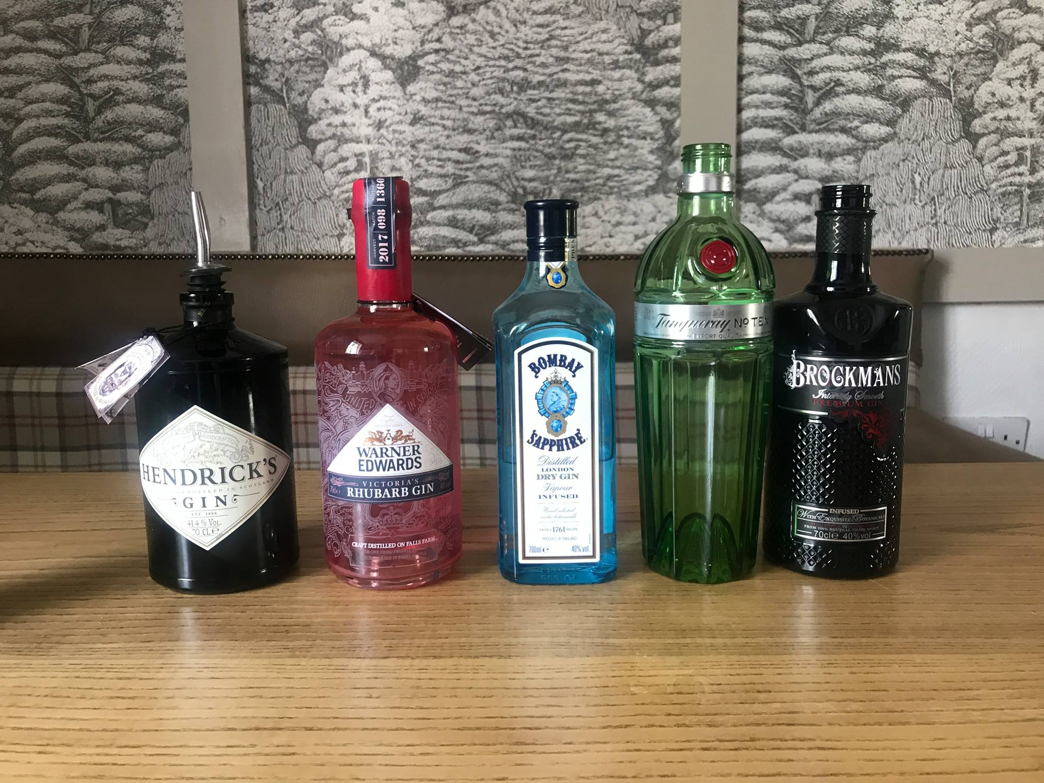 PREMIUM GIN TASTING - FRIDAY 8TH JUNE 2018