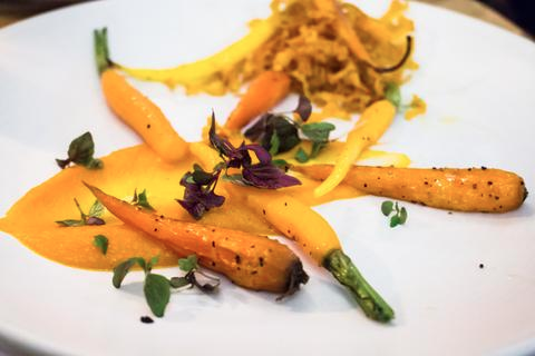 vegan night carrots