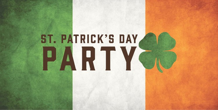 St Patrick's Day - Sunday 17th March   Join us for a family day to celebrate St Patrick!  Kids Craft Workshop with  MoHo Crafts  12.30 - 2.30pm Kids Film Showing 4pm Face painting throughout the afternoon Live music 6-9pm from James Ball  Plus Irish food and drink specials