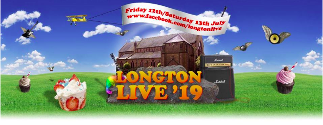 Longton Live - Friday 12th July / Saturday 13th July 2019