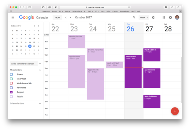 Google Calendar Gets a Facelift