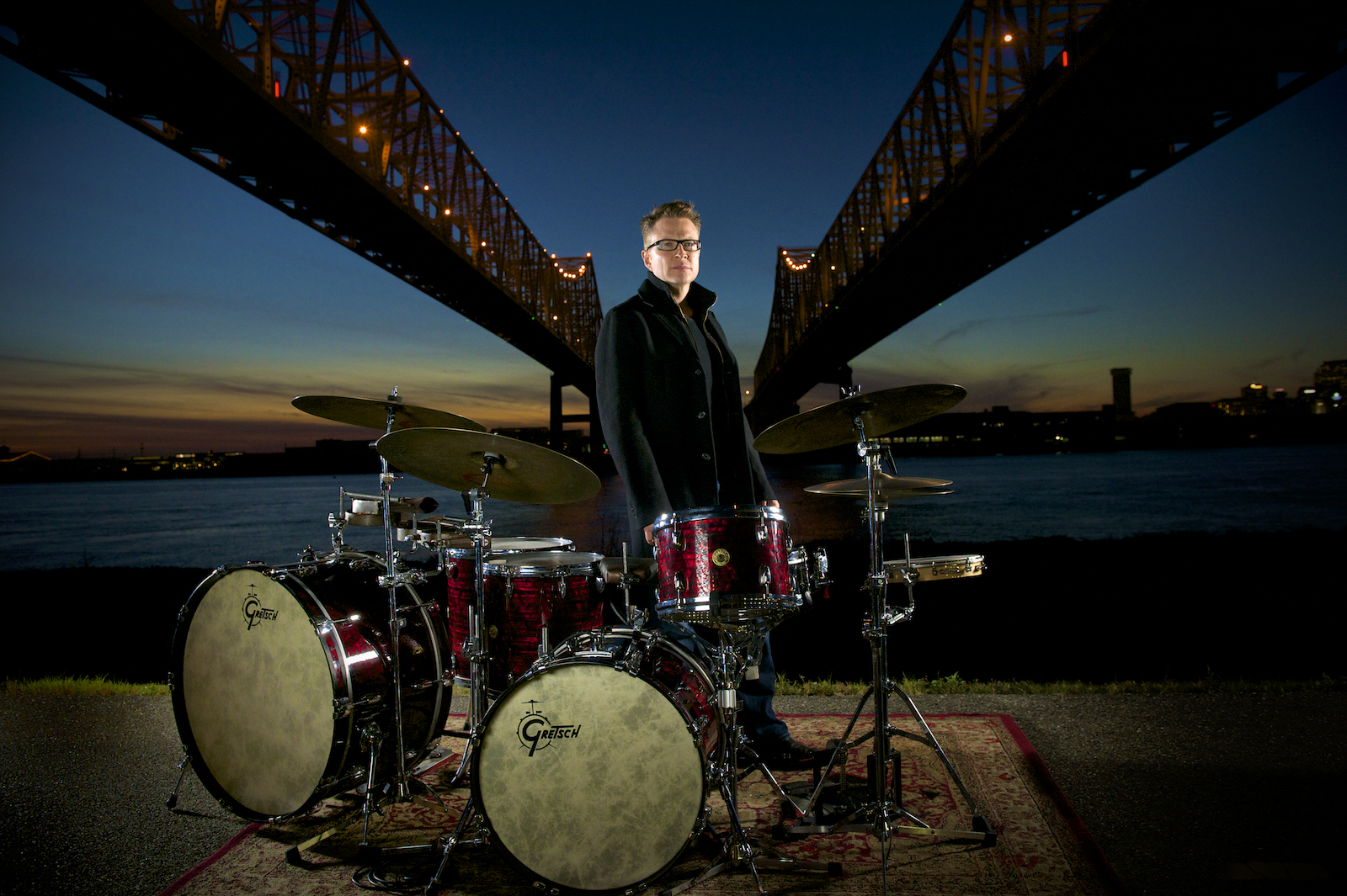 Galactic and Stanton Moore Trio drummer Stanton Moore