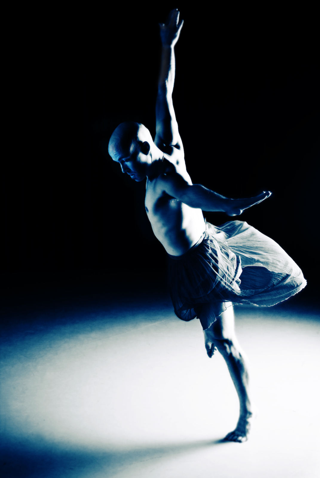 Dancer and choreographer John Allen, photographed by New Orleans based photographer, Marc Pagani