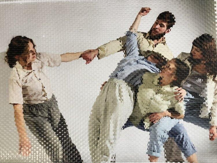 A Woven Photo of Seabus Dance Company by Jacs Fishburne