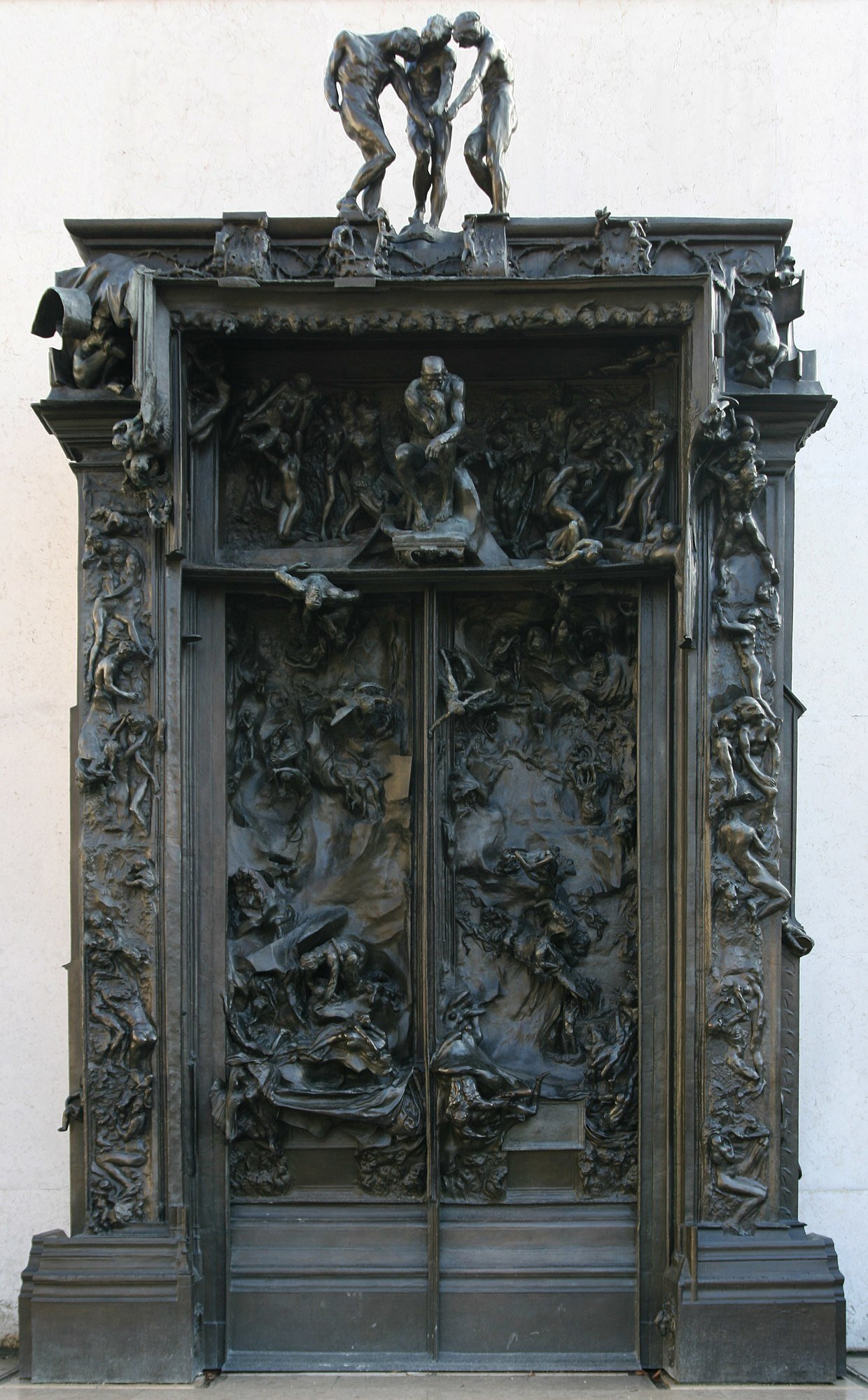 Auguste Rodin Gates of Hell