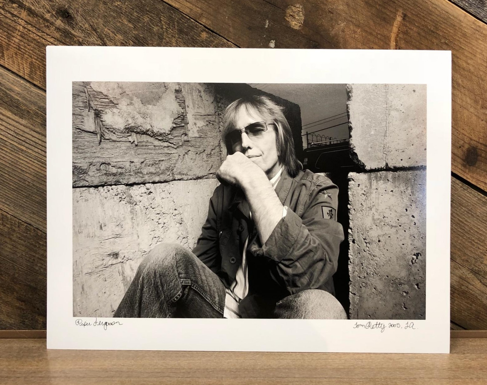 Tom Petty Photo Print, $75
