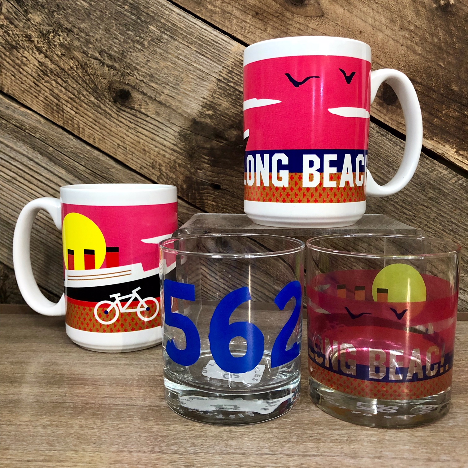 Long Beach Drinkware