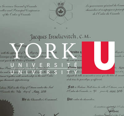 York University:  Endowment | Legacy Cabinet