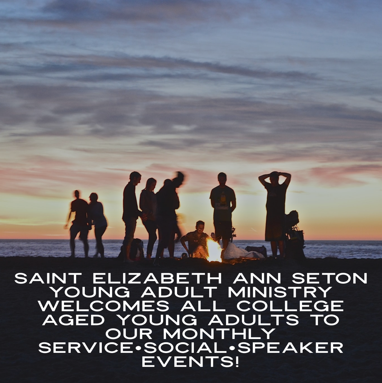 @seas_college - ALL college-aged young adults, defined as 18 and a High School graduate through your mid-twenties, are welcome to join @seas_college!This is a group of young Catholics joining together to live out our faith through service and fellowship.Follow @seas_college on Instagram for all the latest information and upcoming events.
