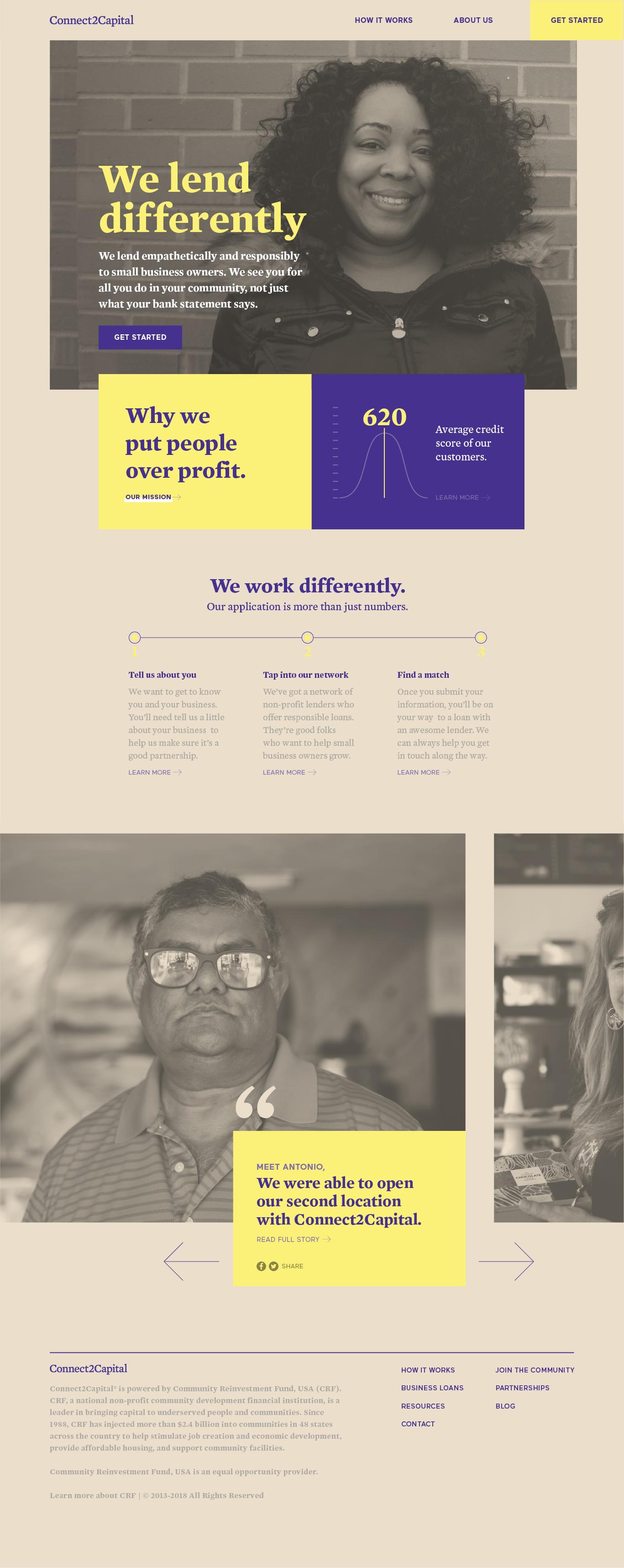 Website, Homepage