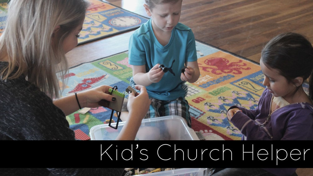 As a Kid's Church helper, you get to be a kid again. You will be assisting the teacher in lessons and helping children with their crafts.