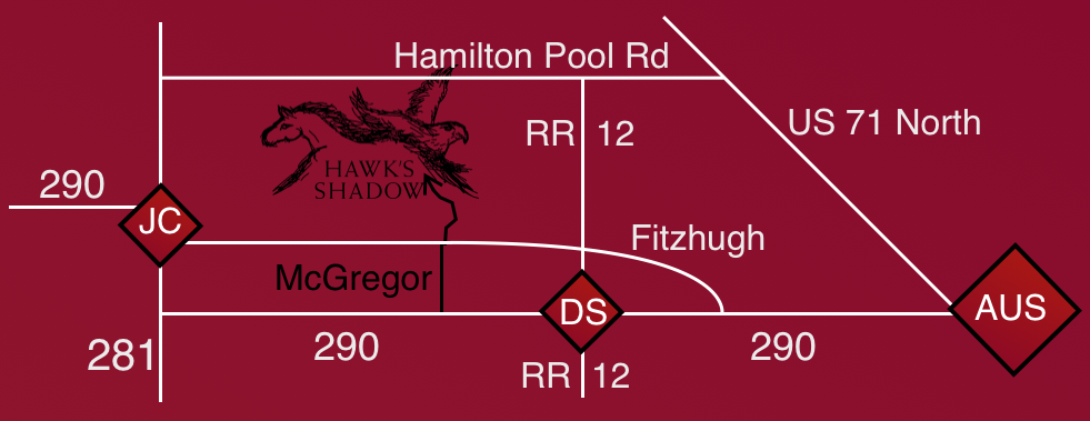 Map Hawks Shadow