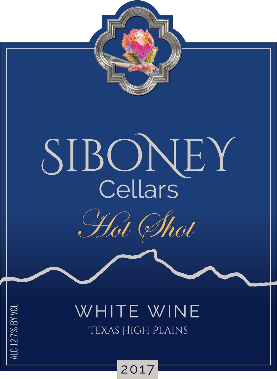 2017 Hot Shot White Wine - $32