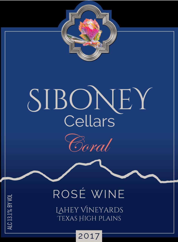 2017 Coral Rosé - $30