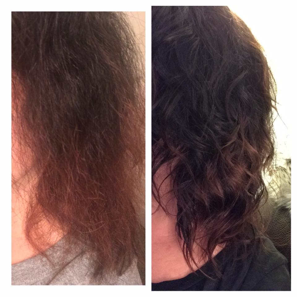 - This is my hair. The first photo was taken in November. It was washed with infusium shampoo and conditioner with a little argon oil. Then it was air dried and I believe I tried brushing it. Regardless it was a horrible sight and I remember how it felt. So dry and not soft at all. My amazing after photo was taken today. I have been using MONAT products( balance system, rejuveniqe oil, and once a week the irt shampoo) consistently for almost 4 months now and I love my hair. The only thing I did after my shower was let it dry with a Few drops of rejuveniqe oil. Best part is I am still using my original first order!!! I haven't bought shampoo in months, it's saving me money and time as I am not trying to find oils masks and mouse to get my curls back. I am mind blown and so happy I found this amazing product. 👌🏻