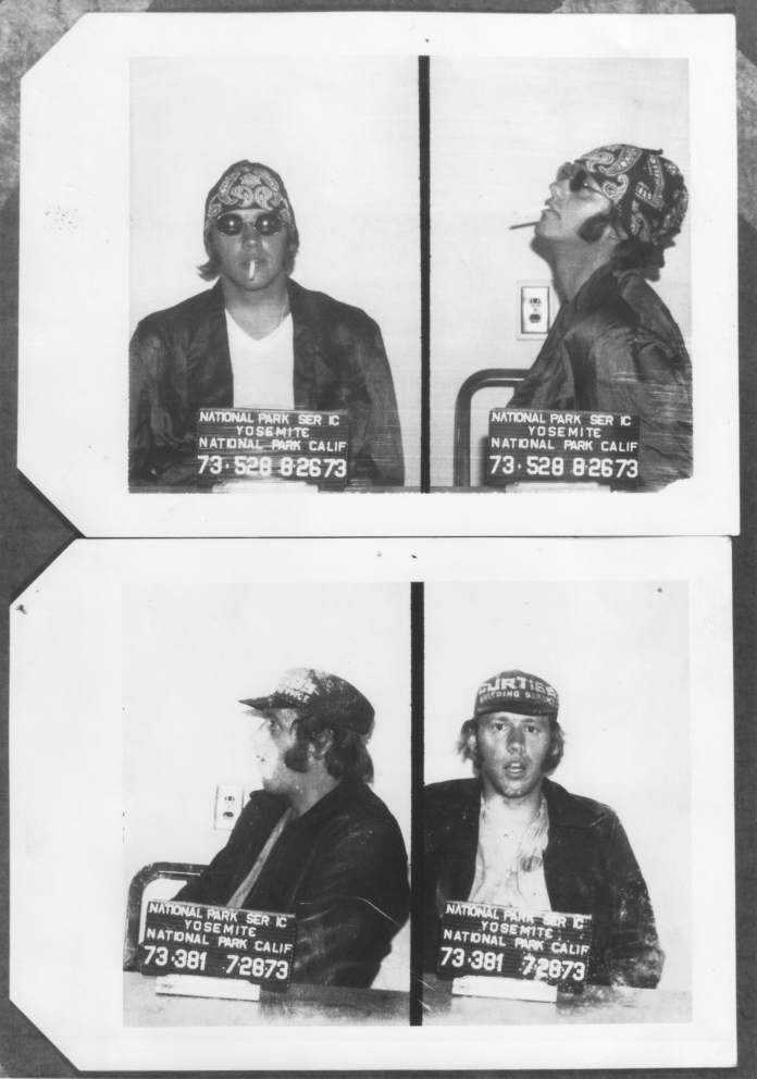 Ranger Tim Setnicka got arrested several times while working undercover in the park.