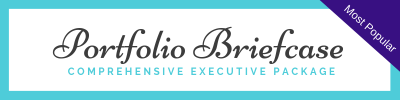"The Portfolio Briefcase (Most Popular) - 60-90 minute Consultation: You'll have a one-on-one call with Sarah where you'll discuss career goals, target companies and location.Resume: You'll receive a custom written resume. Every resume is unique. We won't give you lengthy forms to complete. When it comes to writing your resume, Sarah schedules a 60-90 minute-long intake call to not only discuss your work achievements and core strengths as a candidate, but also what makes you different and unique.Custom Cover Letter: You name the company and we'll write a compelling cover letter—or— we can create a customizable cover letter template for you to use for various roles.LinkedIn Profile Branding: First impressions are now formed online before they are formed in-person. We will help you make a great first impression by creating a LinkedIn summary, background image and header that will not only elevate your online image, but will also help you with LinkedIn's search engine optimization.1 Half Hour of LinkedIn Training: Work one-on-one with Sarah (LinkedIn Guru!) to learn how to use the platform for smart networking. She'll teach you Boolean search tricks and the right way to approach employers online.1 Hour Interview Coaching Call: Work with Sarah, a former corporate recruiter, one-on-one to nail your interview.E-mail access to Sarah Johnston for three months following the purchase of this package. This is great for ""quick"" questions. Detailed questions with involved responses or questions requiring coaching are not included."