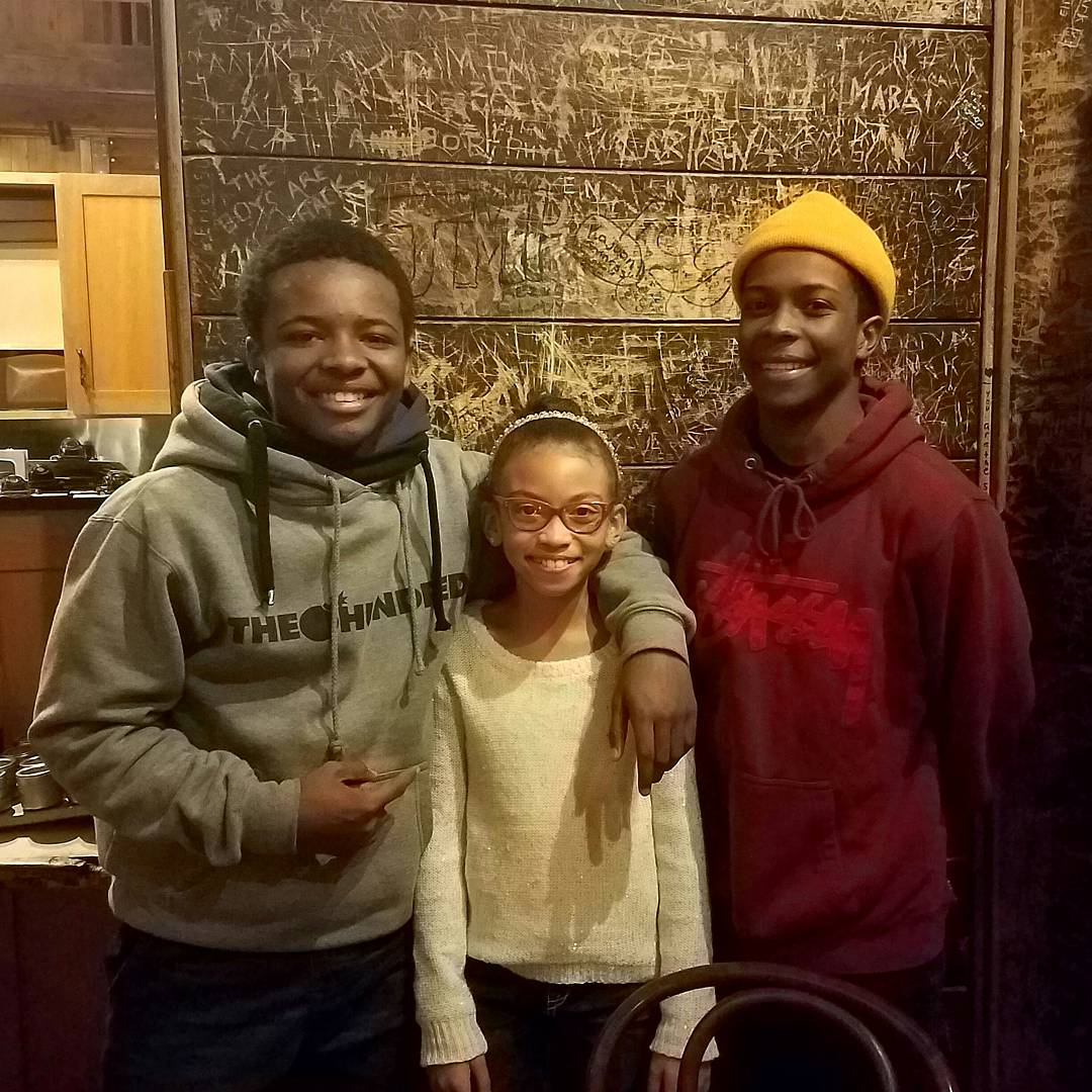 Celebrities Deshaun Brown- The Lion Guard and Dante Brown- Lethal Weapon with Alyssia Duda