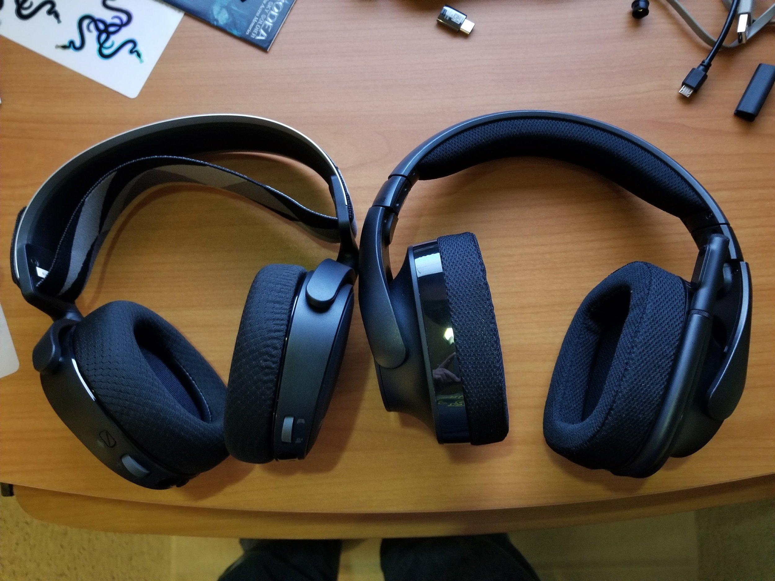 Headset Showdown Steelseries Arctis 7 Vs Logitech G533 World Bolding