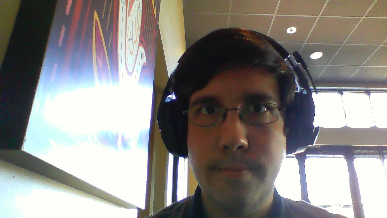 I wrote this while also auditioning the HyperX Cloud Stinger Wireless for review. Here is a bad picture from my sub par web cam.