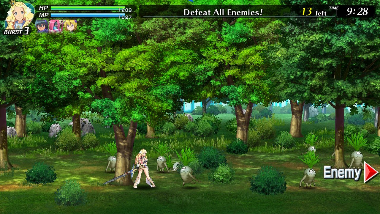 Code of Princess EX's art got a big resolution upgrade from the old PC/3DS version.