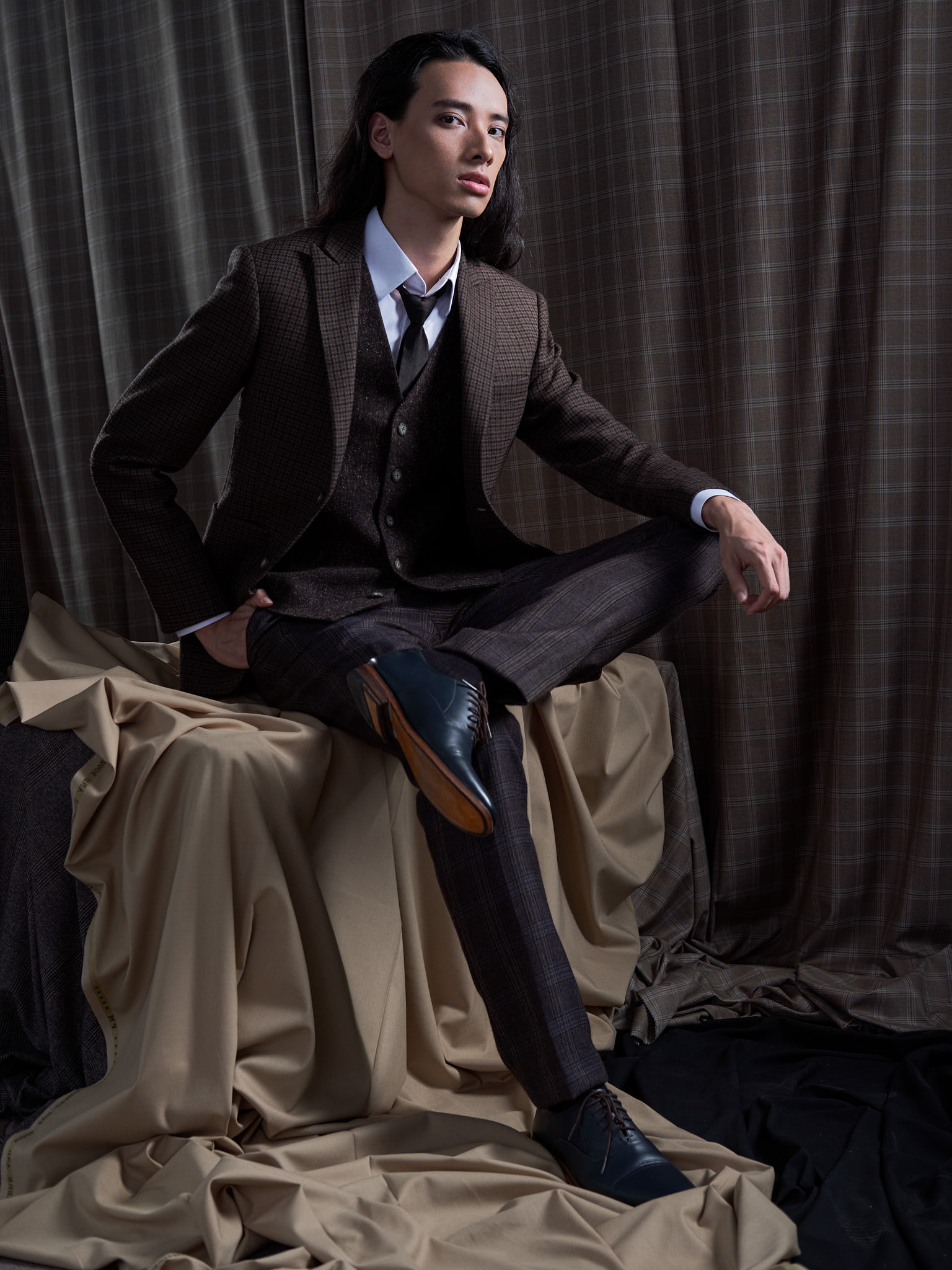 Yaly Couture - New Mens Suit Collection - Brown