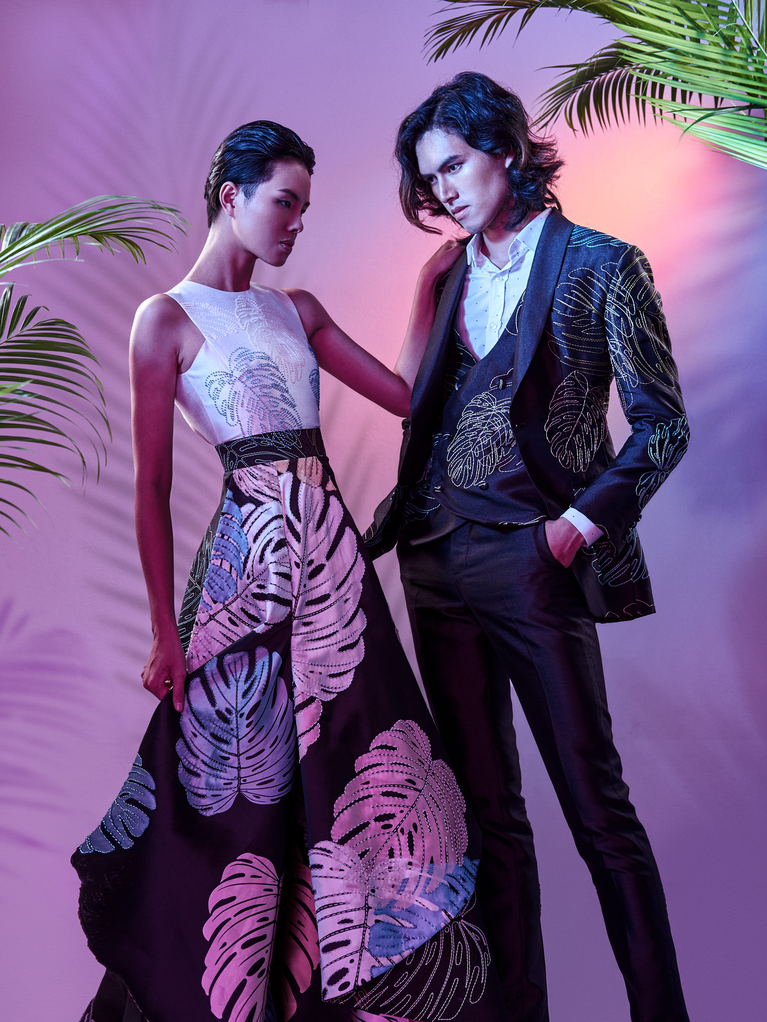 Oche Couple - Fashion Editorial - Enzo Creation Studio