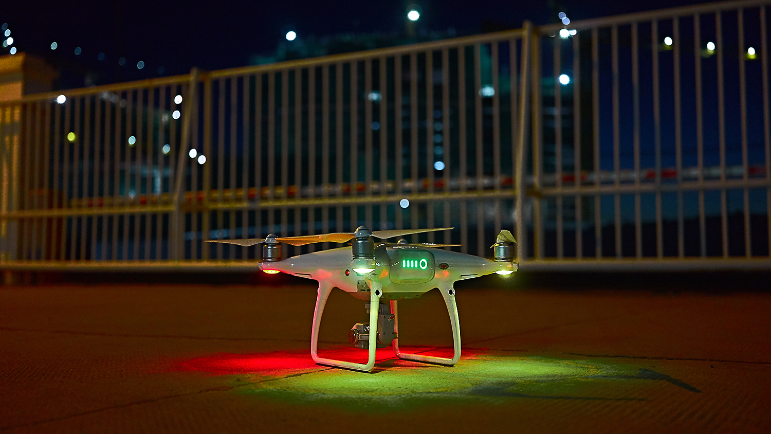 Our drone, the busiest worker of the team.