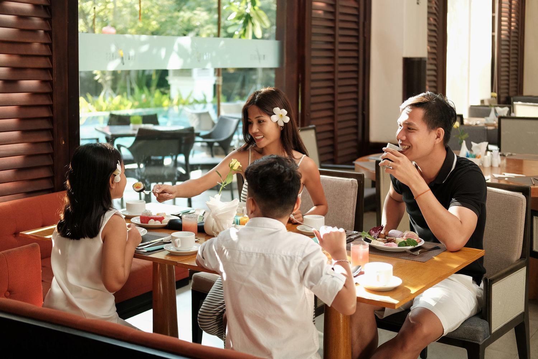 Family time @  Premiere Village Danang Resort