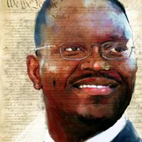 We The People: Clementa Pinckney © Howard Barry. Used with permission of the artist.
