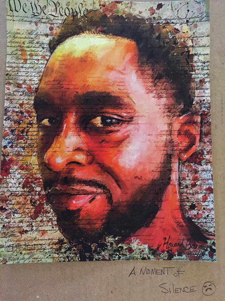 We The People: Corey Jones © Howard Barry. Used with permission of the artist.