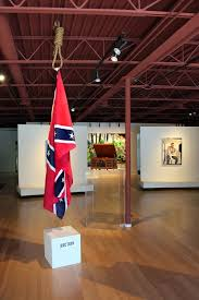 The Proper Way To Hang A Confederate Flag © John Sims, used with permission of the artist.
