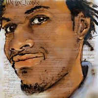 We The People: John Crawford III © Howard Barry, used with permission of the artist.