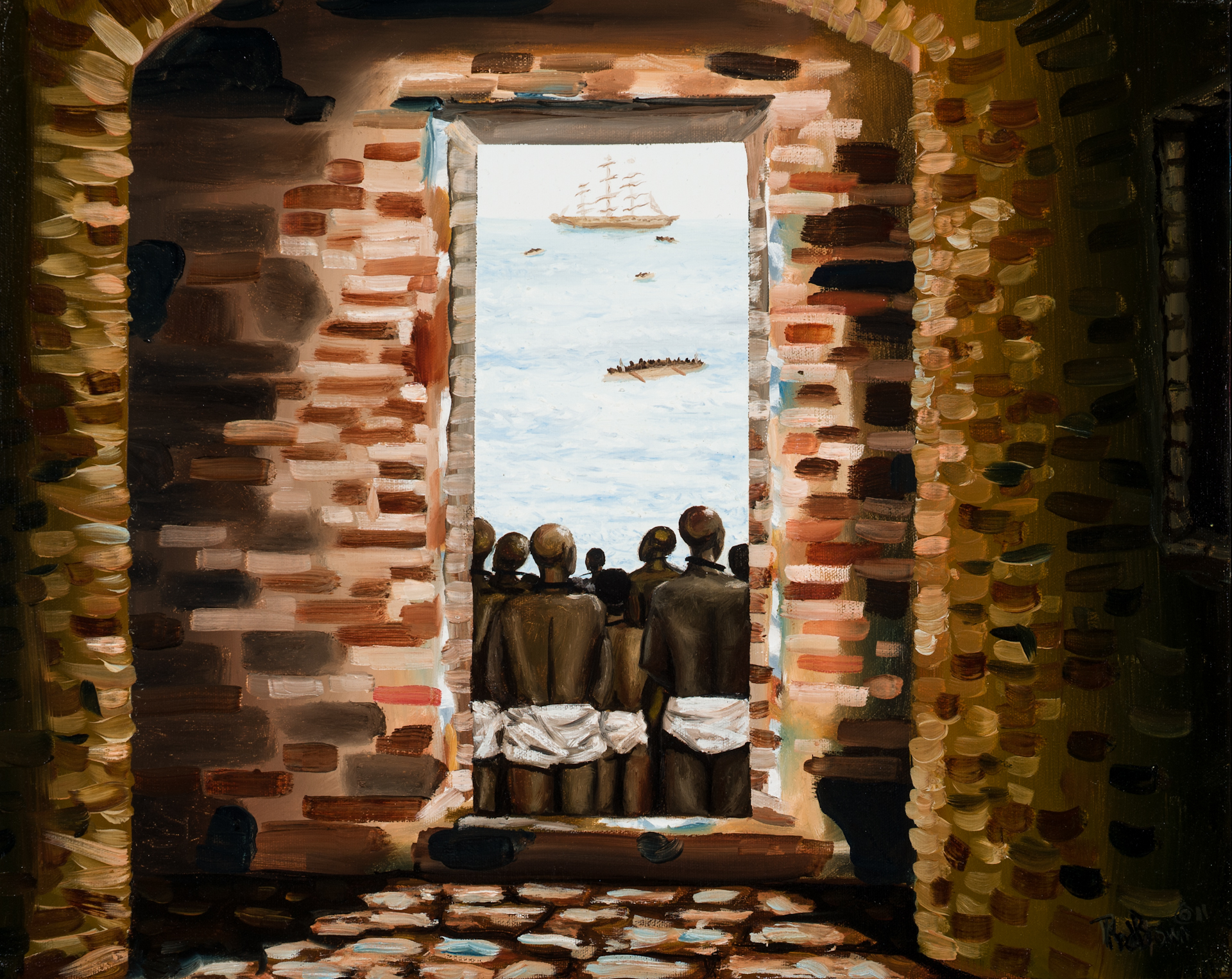 The Door of No Return © Rod Brown, used with permission of the artist.