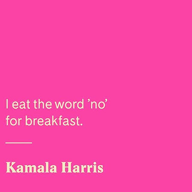 Go on ... show 'em what you're workin' with this week! 🐯 #hearmeroar @kamalaharris #motivationmonday
