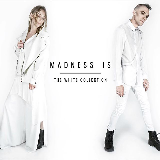From black to white ... @madnessis #whynfw