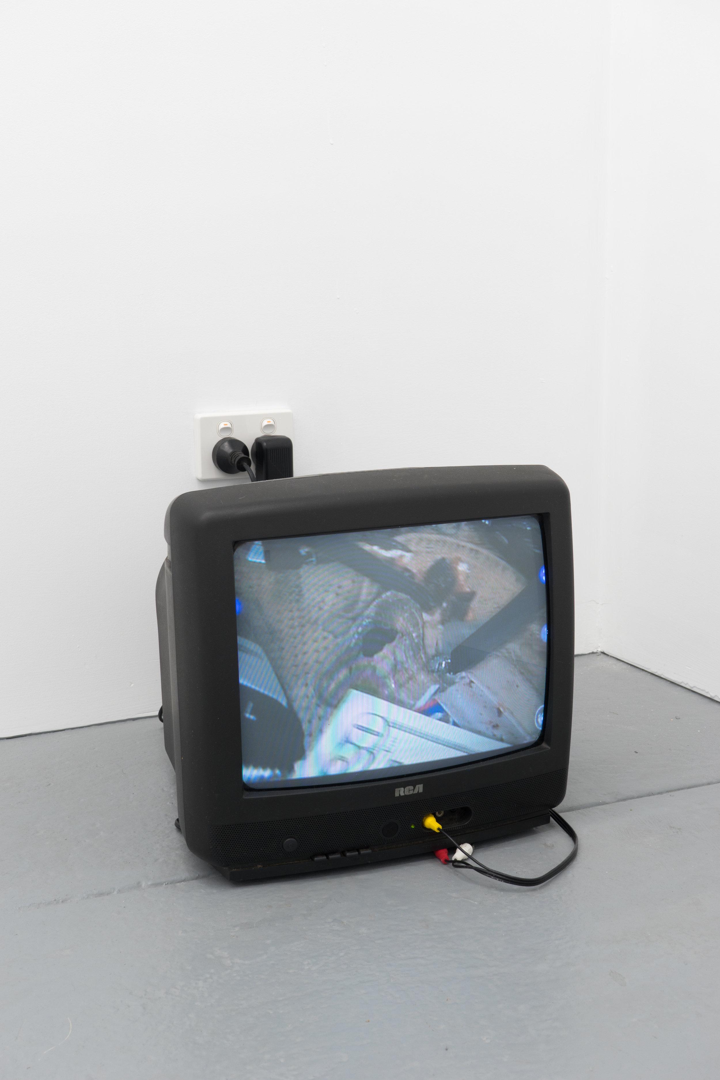Liz Magic Laser, Mine, 2009 Single-channel video, 22 minutes. Produced with the Leonardo da Vinci surgical system  Image credit: Ruben Bull-milne