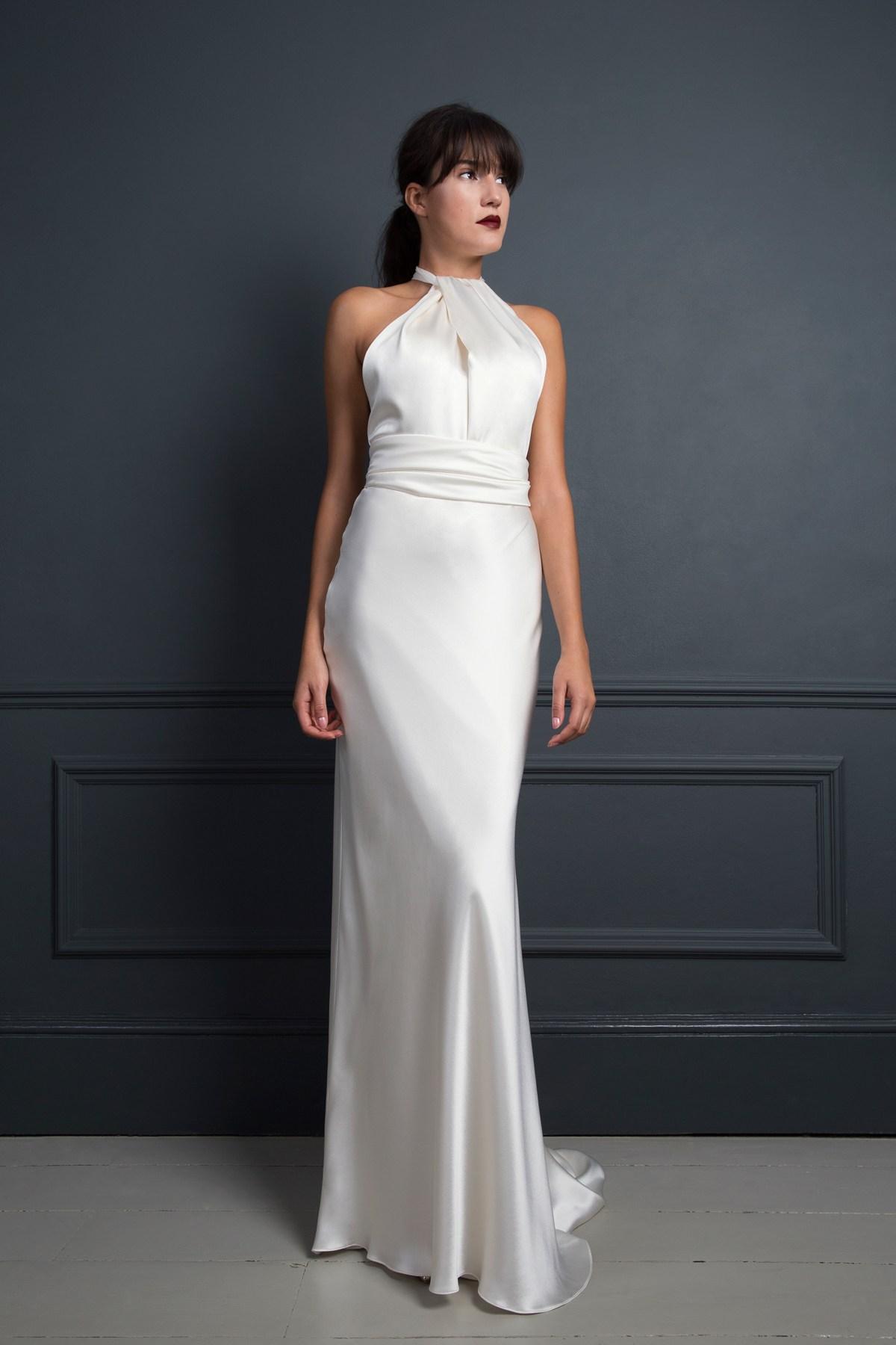 Cheryl Silk Dress by Halfpenny London