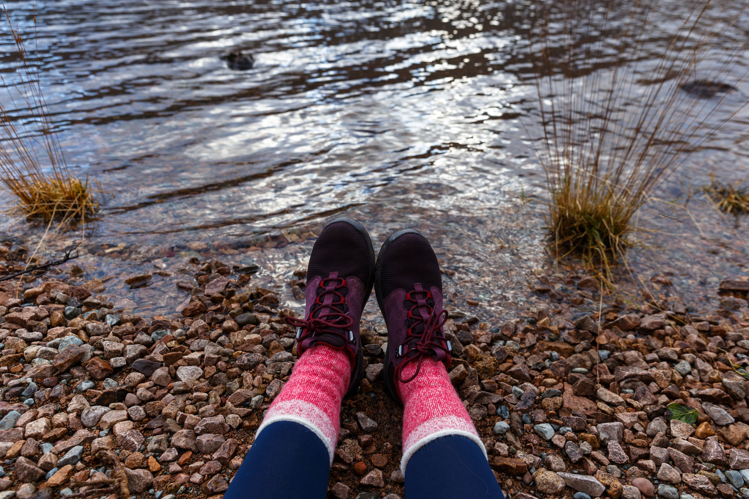 The Arrowood Shoes, paired with RMBLR Peveril Socks in Baked Apple